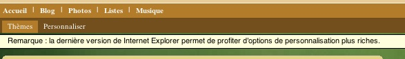 Internet Explorer est fortement conseillé ;)