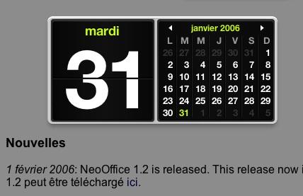 NeoOffice 1.2 est sorti.