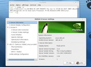 Noyau Linux 2.6.30 et nouvelle version du pilote nvidia dans Archlinux